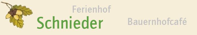 Ferienhof Schnieder
